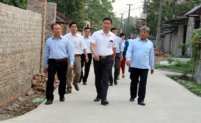 Phó Chủ tịch Thường trực, UBND tỉnh, Lại Thanh Sơn, tìm hiểu, thực tế, Nham Sơn, Yên Dũng