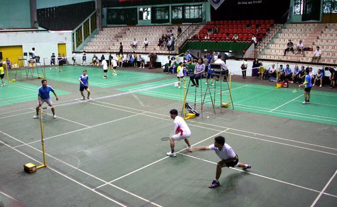 Giải Cầu lông, truyền thống, Công đoàn Viên chức tỉnh, năm 2017
