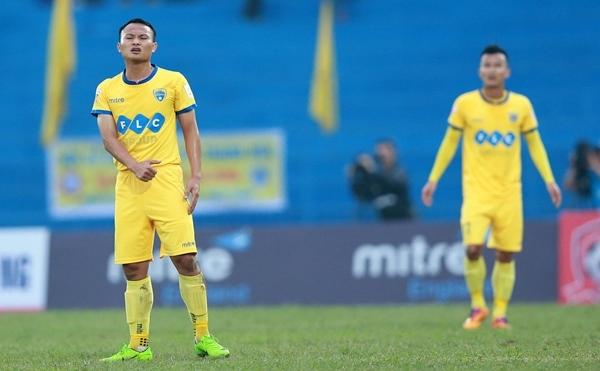 Sài Gòn FC, cầm chân, FLC Thanh Hóa,  vô địch, lượt đi