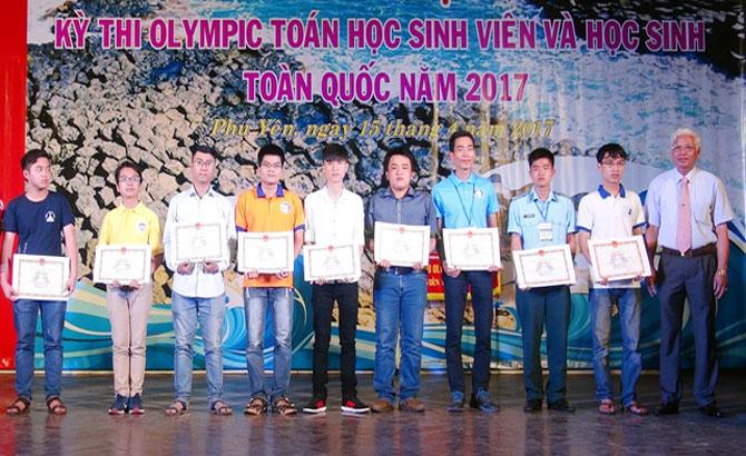 Bắc Giang,  giành hai,  giải Ba, Olympic, Toán học, Sinh viên