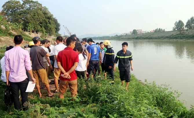 Một, học sinh,  tử vong do, đuối nước, sông Thương