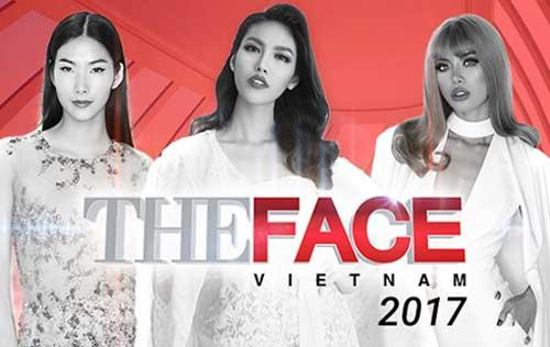Lộ diện, bộ ba, Huấn luyện viên, The Face 2017