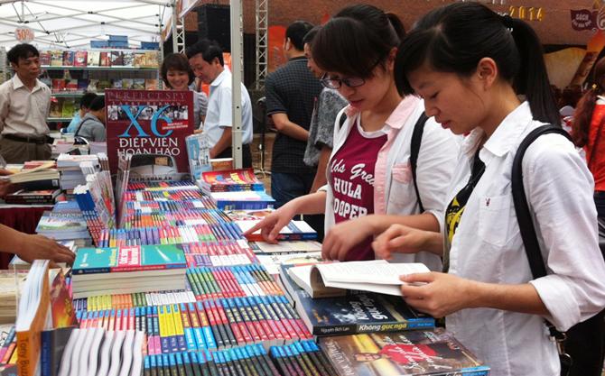 Ngày hội sách, 2017, Thư viện Quốc gia, độc giả, văn hóa đọc