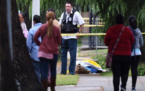 Đối tượng, tiền án, xả súng, California, 3 người, thiệt mạng