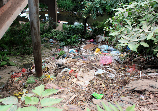 Làng quê, ngập rác, bừa bãi,  ảnh hưởng, sản xuất, đời sống