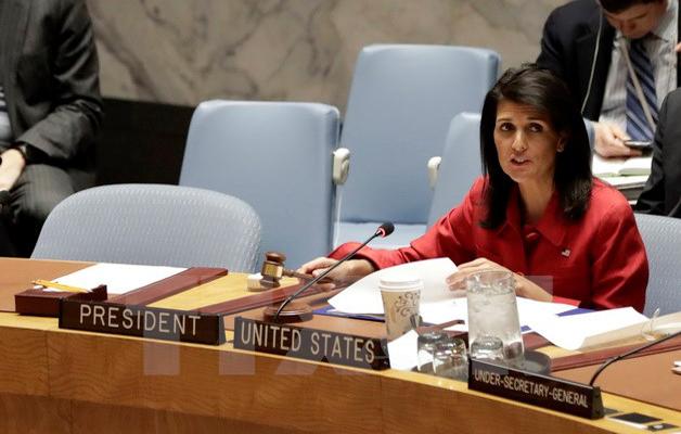 Đại sứ, Mỹ, Liên hợp quốc, Nikki Haley, phản đối, Triều Tiên