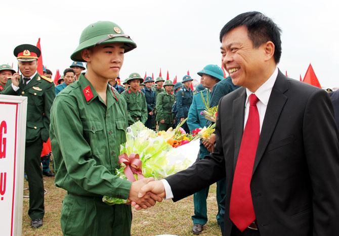 Lạng Giang, phát huy, truyền thống, Anh hùng,  xây dựng, lực lượng, vũ trang,  vững mạnh