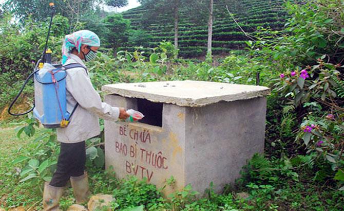 Lục Ngạn: 300 triệu đồng hỗ trợ thu gom bao bì thuốc bảo vệ thực vật