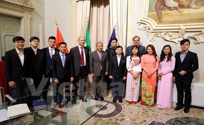 Trường đại học Italia muốn tiếp nhận thêm nhiều sinh viên Việt Nam
