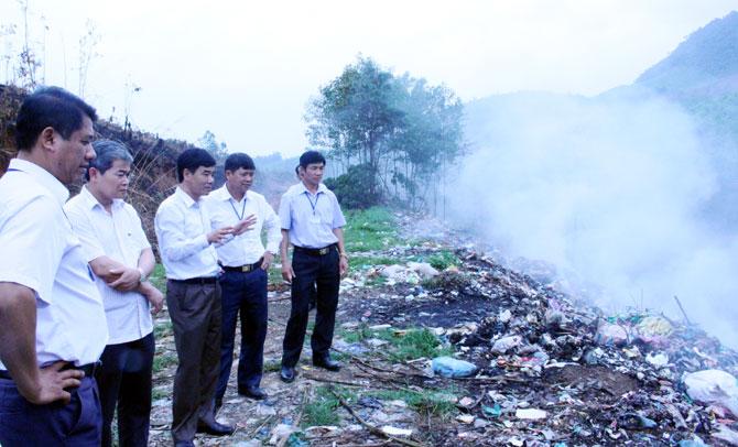 Chủ tịch UBND tỉnh,  Nguyễn Văn Linh,  kiểm tra, công tác, môi trường, giáo dục