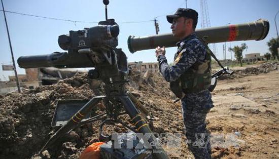 Quân đội, Iraq, giải phóng, khu vực, Tây Mosul