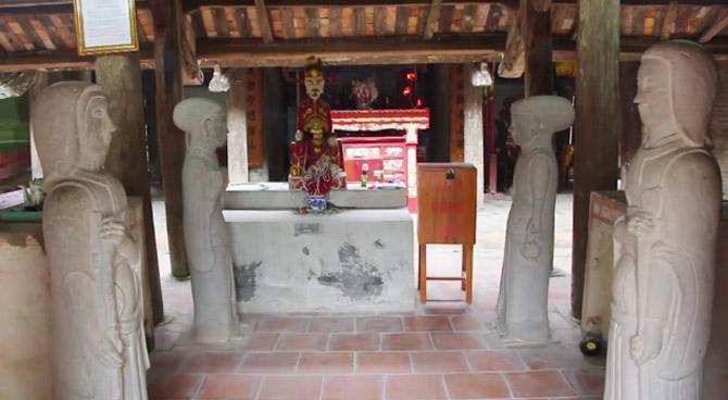 Lăng, Giáp Đăng Luân, Việt Lập, Tân Yên, tượng đá, linh thú,