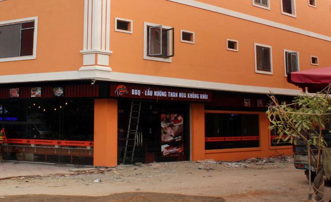 Việt Yên: Hai doanh nghiệp vi phạm trật tự xây dựng tháo dỡ công trình
