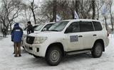 Xe phái đoàn OSCE bị dính mìn ở miền Đông Ukraina