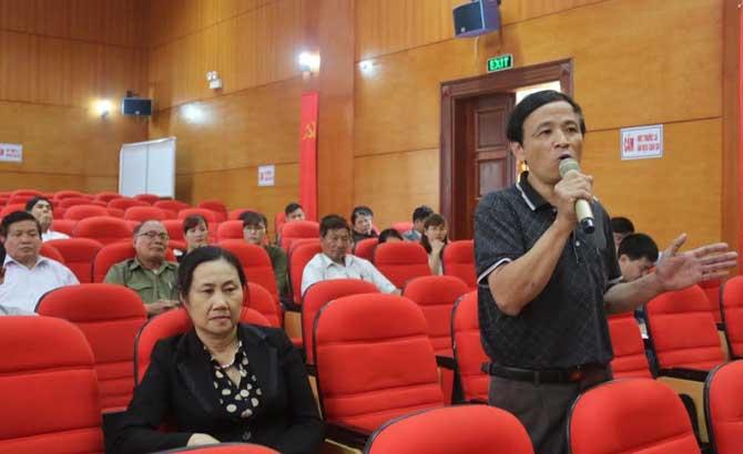 Đại biểu Quốc hội, tiếp xúc cử tri, huyện Lục Ngạn, tỉnh Bắc Giang