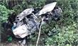 Bình Định:  Tàu hỏa húc ô tô văng 50 mét, 4 người tử vong