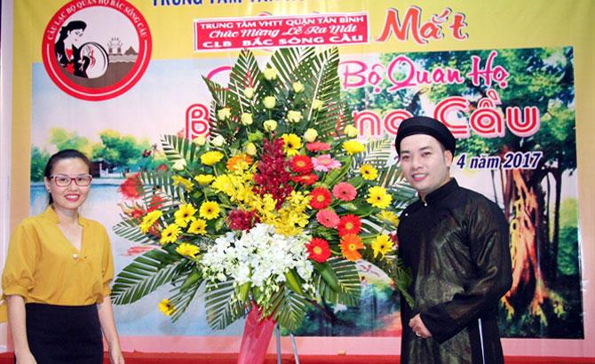 Ra mắt CLB Quan họ Bắc Sông Cầu tại TP Hồ Chí Minh