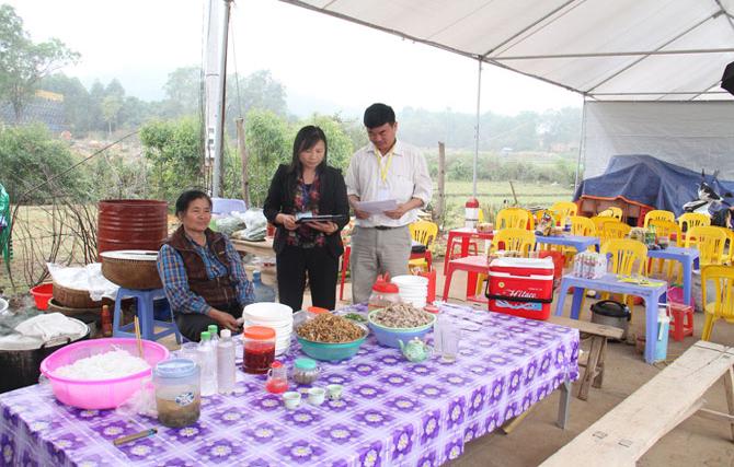 Việt Yên, triển khai,  Tháng hành động, an toàn,  thực phẩm