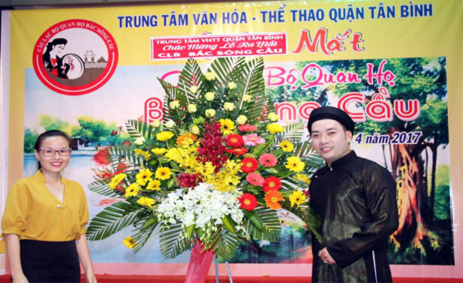 Quan ho folk singing club rolled out in HCM City