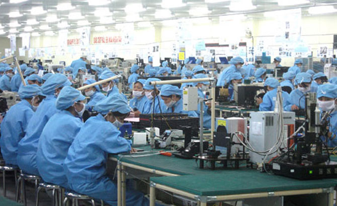 Bac Giang's industrial production value reaches over 6.5 trillion VND in April