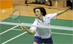 Trang enters second round of Asian badminton tourney