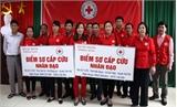 Bắc Giang: Thành lập, trao dụng cụ cho 47 điểm sơ cấp cứu