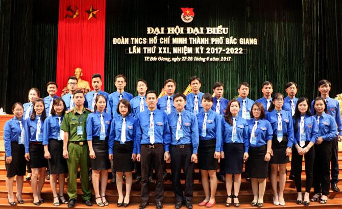Đại hội Đoàn TNCS Hồ Chí Minh TP Bắc Giang lần thứ XXI, nhiệm kỳ 2017-2022