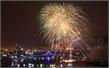 Sông Hàn rực sáng trong đêm khai mạc Lễ hội pháo hoa quốc tế