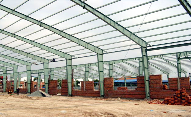 Nearly 120 billion VND invested in steel structure factory in Lang Giang