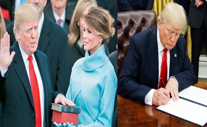 Dấu ấn, 100 ngày,  nhiệm kỳ,  Tổng thống Mỹ, Donald Trump