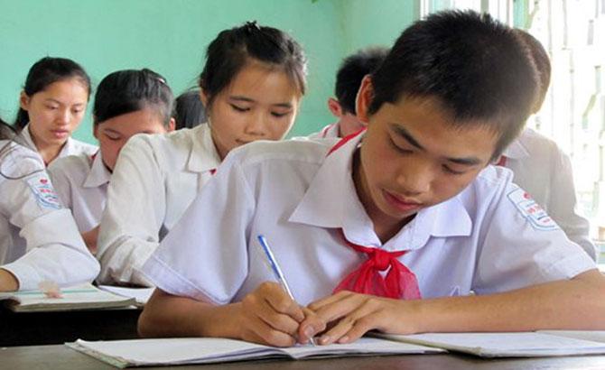 550 học sinh, Trường THCS Lê Quý Đôn, TP Bắc Giang, tuyển sinh