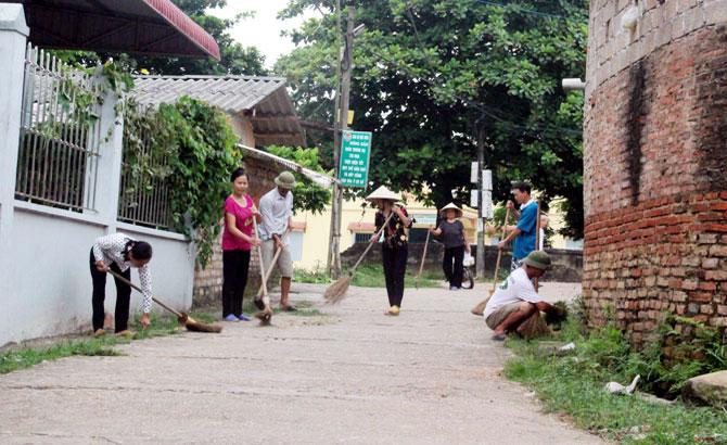 Lạng Giang, 335 mô hình, dân vận khéo,  xây dựng, nông thôn mới