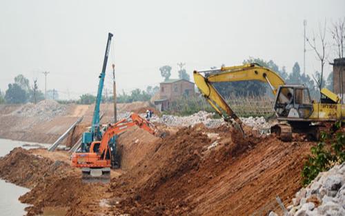Yên Dũng: Tập kết hơn 3,5 nghìn m3 đất dự phòng trong mùa mưa bão
