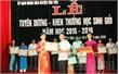 Khen thưởng 87 giáo viên và học sinh có thành tích xuất sắc