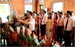 Đảng ủy Các cơ quan tỉnh Bắc Giang báo công dâng Bác tại tỉnh Nghệ An