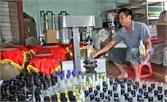 Hiệp Hòa: Hơn 5% cơ sở sản xuất, kinh doanh rượu được cấp phép