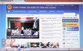 Bắc Giang xếp thứ 12 về chỉ số Trang/Cổng thông tin điện tử