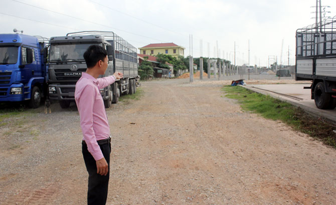 Handling violations of land lease projects in Bac Giang city