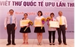 Cuộc thi viết thư UPU quốc tế lần thứ 46: Một học sinh Bắc Giang giành giải Nhì