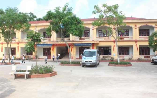 Việt Yên, khánh thành, phòng học, phòng chức năng, xã Tự Lạn