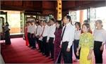 Thành uỷ Bắc Giang báo công dâng Bác tại Khu di tích đặc biệt ATK Định Hoá