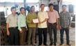 Liên đoàn Lao động (LĐLĐ) tỉnh Bắc Giang thăm, tặng quà công nhân bị tai nạn lao động