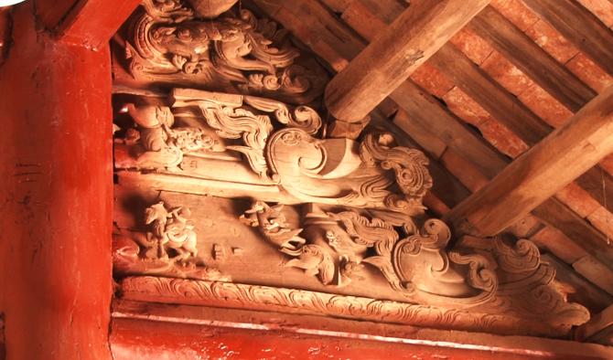 Kiến trúc, nghệ thuật, đình Mỹ Hòa, huyện Lạng Giang