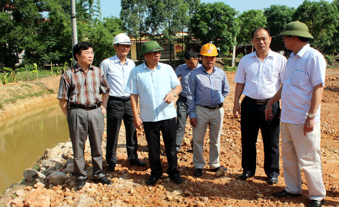 Bac Giang builds synchronous infrastructure, landscape in industrial zones
