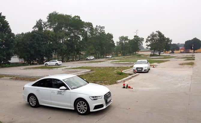 đào tạo,  lái xe Audi,  phục vụ,  APEC 2017