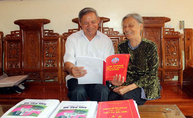 Ông Phạm Ngọc Xương: Lưu giữ tư liệu quý về Bác Hồ