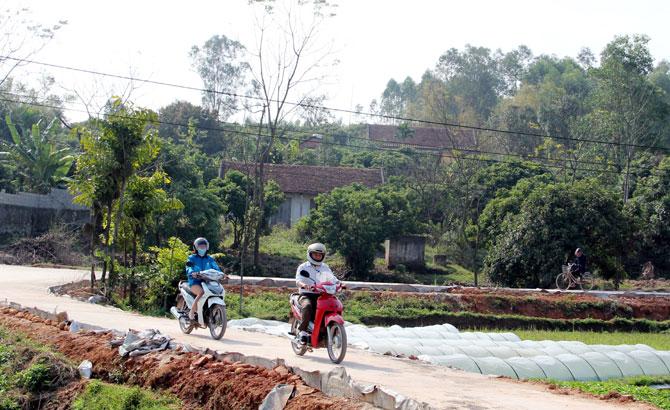 Xây dựng nông thôn mới  vào giai đoạn nước rút