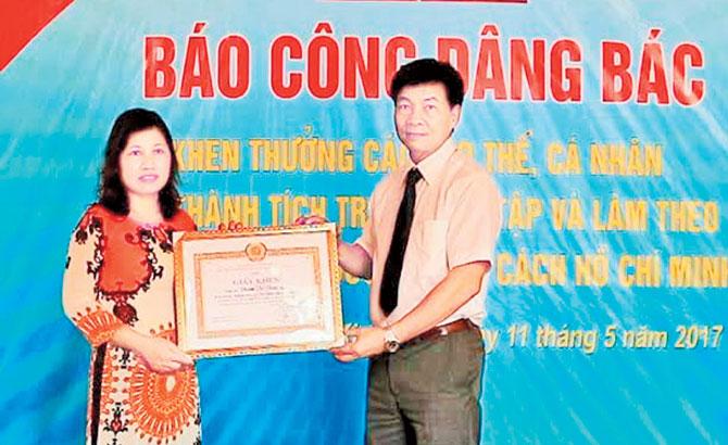 Bác sĩ chuyên khoa II - Thạc sĩ Phạm Thị Thúy Lan: Noi gương Bác,  vì bệnh nhân phục vụ