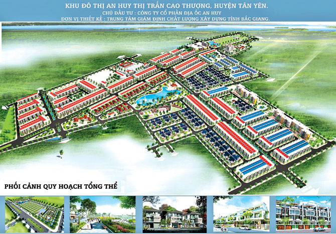 Khu đô thị,  An Huy,  thị trấn,  Cao Thượng