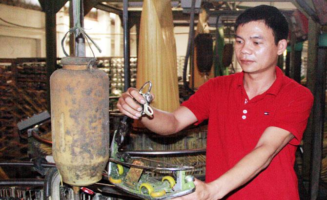 Anh Nguyễn Xuân Trịnh, Công ty cổ phần Nhựa Bắc Giang: Chủ nhân 20 sáng kiến